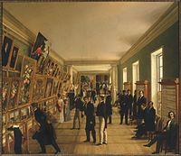 Wincenty Kasprzycki, Wystawa Sztuk Pięknych w Warszawie w 1828 roku.jpg