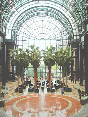 Winter garden - Winter Garden, Brookfield Place, New York City, New York, United States