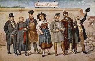 Alsace independence movement - Image: Wir kennen keine Parteien mehr