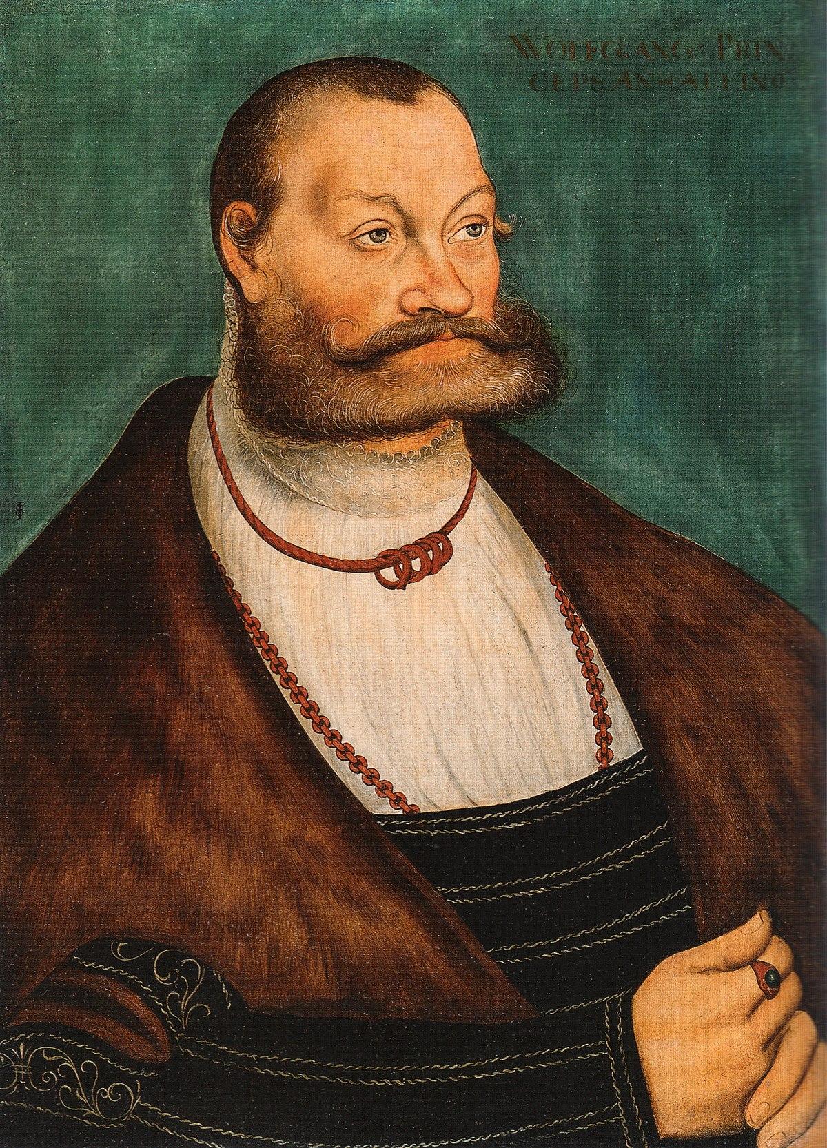 Wolfgang Prince of Anhalt Köthen