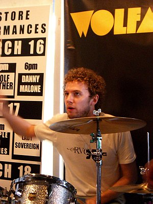Wolfmother - Bassist and keyboardist Chris Ross (left) and drummer Myles Heskett (right) were members of Wolfmother from 2004 until they left in 2008.