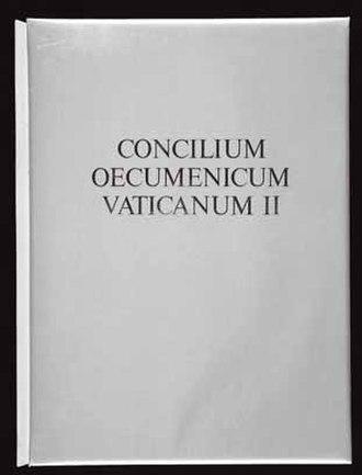 Lothar Wolleh - Cover : Lothar Wolleh, Das Konzil, II Vatikanisches Konzil (The Council, Vatican II Ecumenical Council), Stuttgart 1965