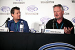 WonderCon 2016 - Houdini and Doyle panel - David Titcher & David Hoselton (26010434822).jpg