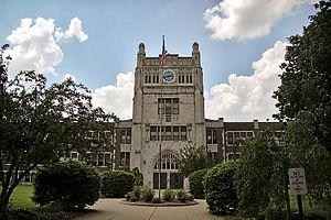 Vigo County, Indiana - Woodrow Wilson School Terre Haute IN
