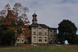 Woodstock, Connecticut - Woodstock Academy Classroom Building