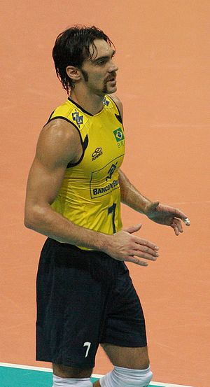Brazil men's national volleyball team - Giba Player 1995–2012