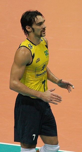 Brazil men's national volleyball team - Giba Player 1995–2012