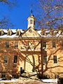 Wren Building, College of William ^ Mary, Colonial Williamsburg, Virginia - panoramio.jpg