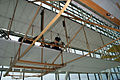 Wright Brothers 1903 Flyer replica Wilbur mannequin EASM 4Feb2010 (14404466279).jpg