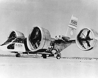Ducted fan - Bell X-22