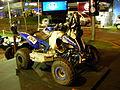 Yamaha Raptor 700 263 Sergio Lafuente - 2012 Dakar Rally - 2012 Montevideo Motor Show.JPG