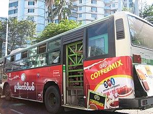 Yangon-Bus