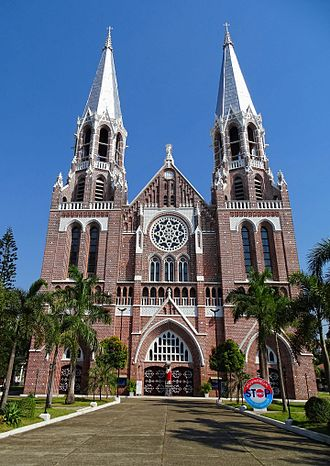 Religion in Myanmar - St. Mary's Cathedral, Yangon