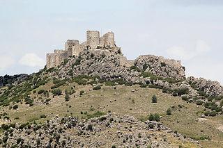 Yılankale castle ruin