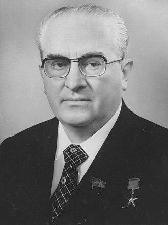 Yuri Andropov - Image: Yuri Andropov Soviet Life, August 1983