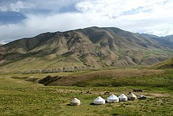 Yurt Camp in Song kol region.jpg