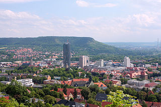Jena Place in Thuringia, Germany