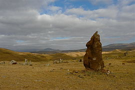 Zorats Karer 2008, one of the standing stones.jpg