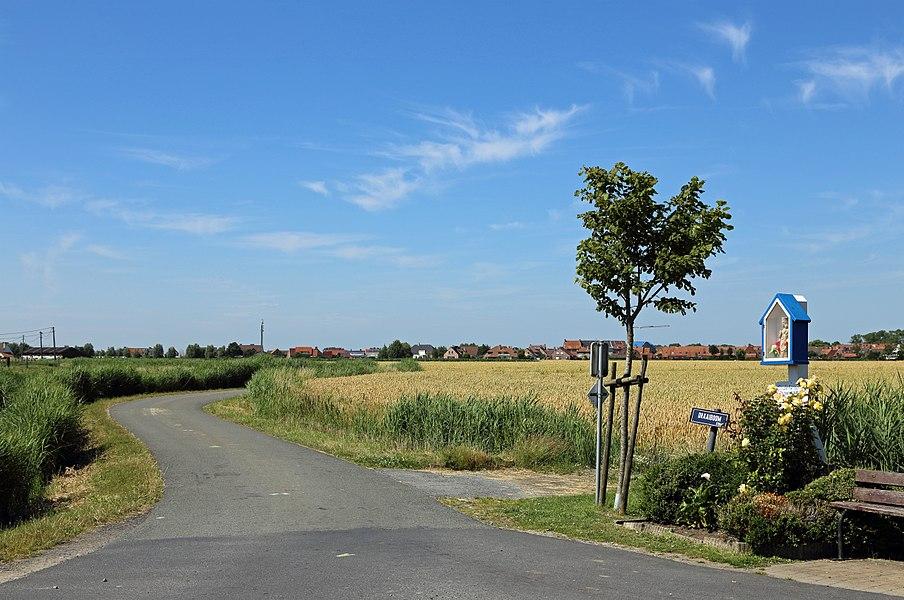 Zuienkerke (Belgium): Draaiboomstraat (Draaiboom street)