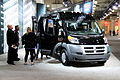 """14 Italian VAN - Fiat Ducato RAM ProMaster- kid driving huge van at the 2014 New York International Auto Show.jpg"