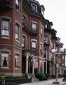 """""""Bowfront"""" buildings on Warren Street in South End, Boston, Massachusetts LCCN2011632397.tif"""