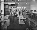 """Cafeteria System, North Cafeteria, Kitchen, US Navy Yard, Mare Island, cA."" - NARA - 296844.tif"