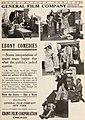 """Ebony Comedies"" ""Ebony Film Corporation"" CHICAGO"" ""negro humor"" ad detail, from- Exhibitorsherald07exhi (page 19 crop).jpg"