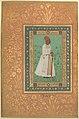 """Portrait of Jadun Rai Deccani"", Folio from the Shah Jahan Album MET DP247737.jpg"