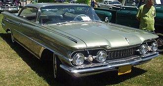 Oldsmobile 98 - 1959 Oldsmobile Ninety-Eight Holiday SceniCoupe