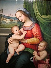 Madonna and Child with Infant St. John the Baptist