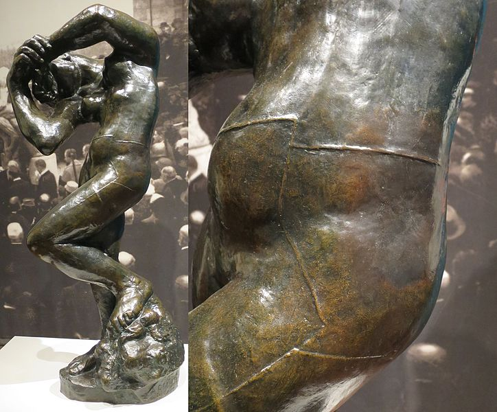 File:'Meditation (with arms)' by Auguste Rodin, Musée Rodin cast 8 of 12.jpg