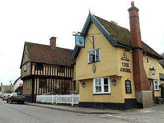 Glemsford - 'The Angel' inn, Glemsford