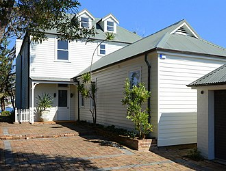 Christina Stead - House in Pacific Street, Watsons Bay, Sydney, where Stead lived 1911-1928