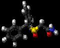 (S)-Modafinil molecule ball.png
