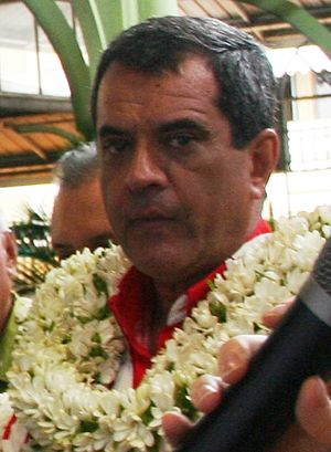 President of French Polynesia - Image: Édouard Fritch Marché Papeete