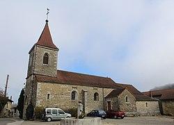 Église St Étienne Montagna Templier Montlainsia 3.jpg