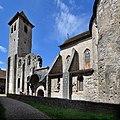 Église abbatiale Saint-Pierre de Marcilhac-sur-Célé. Vue sud.jpg