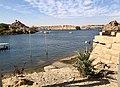Égypte, Île Agilka, Complexe de Philae, Vers le débarcadère (49757373308).jpg