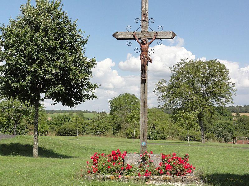 Érize-Saint-Dizier (Meuse) croix de chemin