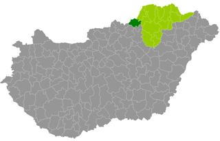 Ózd District Districts of Hungary in Borsod-Abaúj-Zemplén