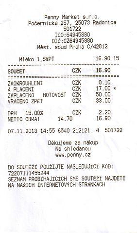 File Uctenka Penny Market Jpg Wikimedia Commons