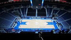 EuroBasket 2017 - Image: Ülker Sports Arena bowl