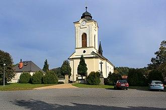 České Libchavy - České Libchavy, church