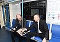 İlham Əliyev paytaxta gətirilən yeni metro qatarlarında yaradılan şəraitlə tanış olub 9.jpg