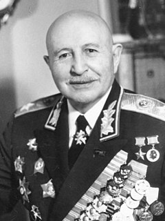 Ivan Bagramyan Soviet military officer