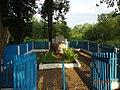 Братская могила 34 подпольщиков и мирных граждан, расстреляных фашистами в Вязьме на окраине города.jpg