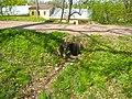 Ораниенбаум. Пруд у Катальной горки, водосброс.jpg