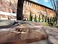 Смоленск. Вечный огонь в сквере Памяти Героев у крепостной стены.jpg
