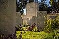 בית הקברות הצבאי הבריטי בבאר שבע - מבט מגובה האדמה.jpg