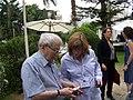 מנכל סטימצקי איריס בראל, הסופר יורם קניוק (4644940166).jpg